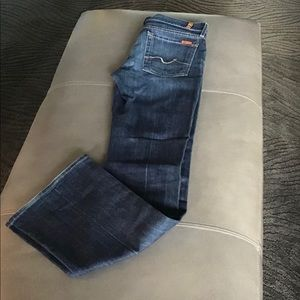 7 for All Mankind bootcut med wash EUC